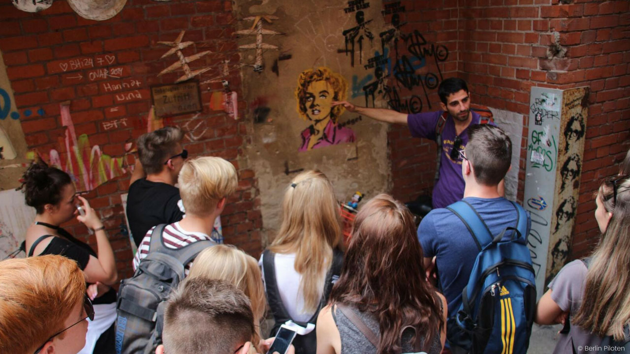 Graffiti & Streetart Workshop mit der Schulklasse in Berlin