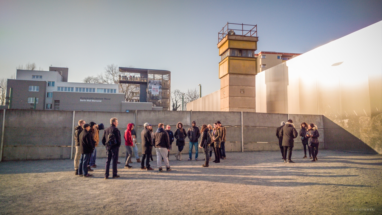 Escape Attempt from the GDR - The Berlin Wall Tour for School Classes with a Contemporary Witness