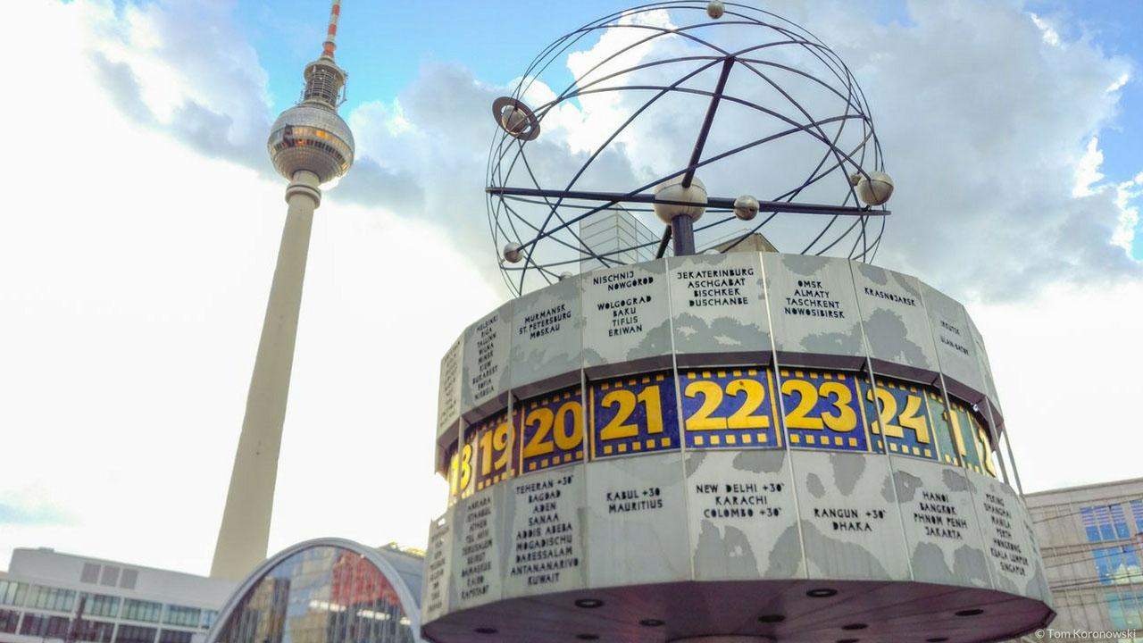 World Clock Alexanderplatz