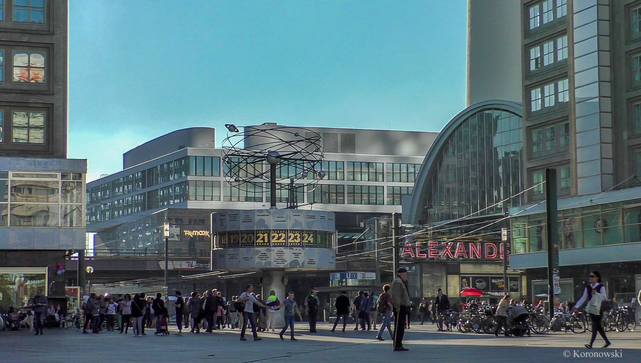 Alexanderplatz is one of the most important places in Berlin