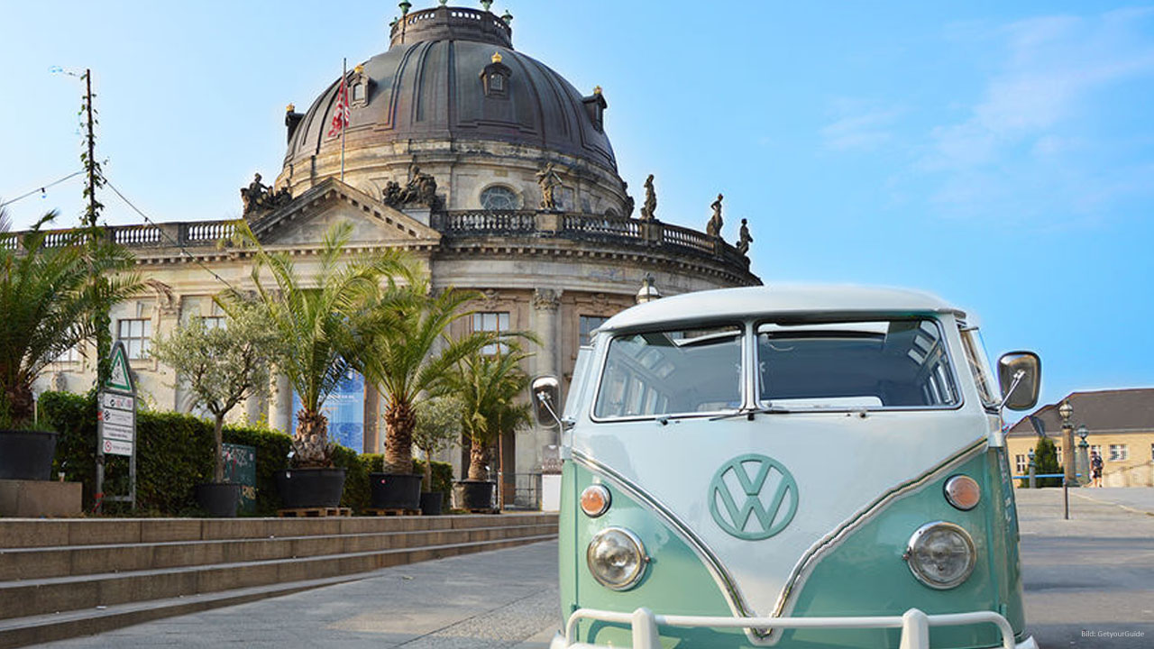 2-Hour Sightseeing Tour in classic VW Bus